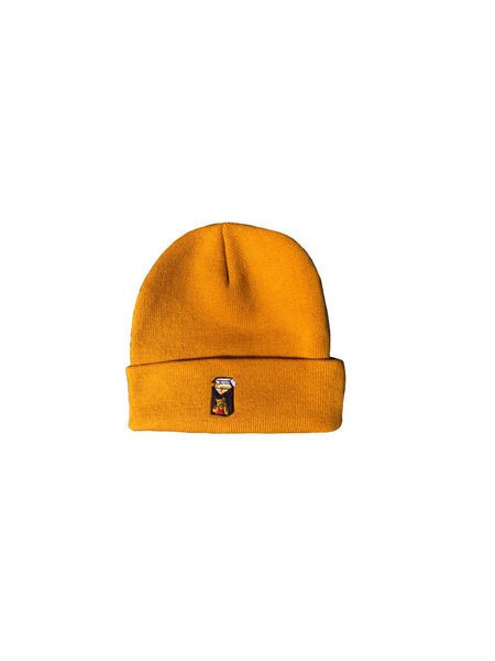 Winnie Blues Beanie - Gold