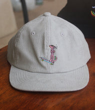 Load image into Gallery viewer, Cool Cat Cord Cap - Ivory