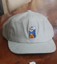 Load image into Gallery viewer, Winnie Blues Cord Cap - Ivory