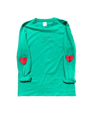 Hearts LS - Peppermint
