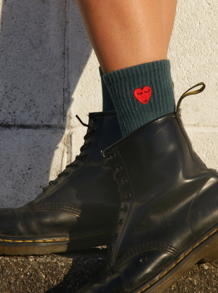 Love Hate Sock - Forest