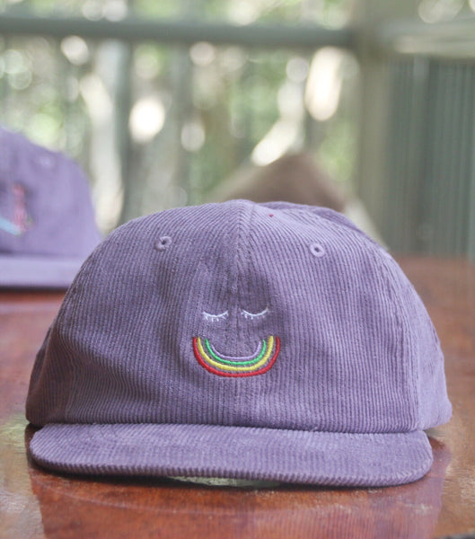 Happy Daze Cord Cap - Lavendar