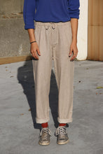Load image into Gallery viewer, Happily Sad Linen Pants - Beige