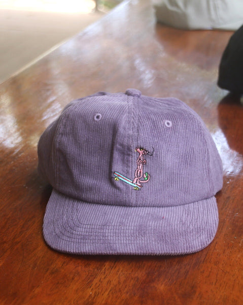 Cool Cat Cord Cap - Lavendar
