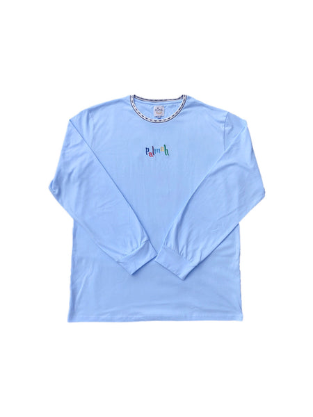 Retrograde Tee - Baby Blue