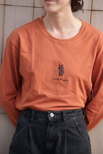 Load image into Gallery viewer, Pursuit of happiness LS - Burnt Orange (Organic Hemp)