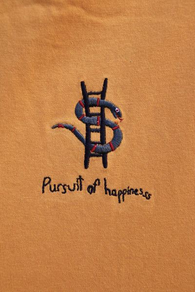 Pursuit of happiness LS - Faded Butterscotch (Organic Hemp)