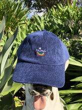 Load image into Gallery viewer, Palmah Corduroy Cap - Navy