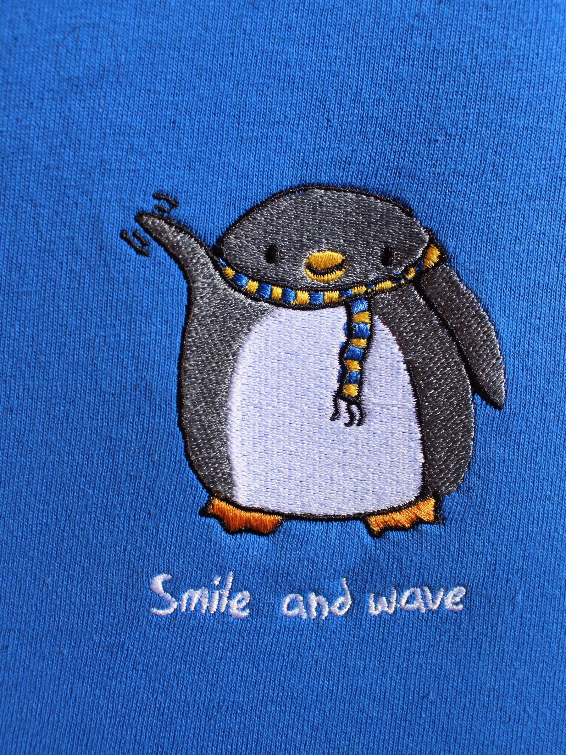 Smile and Wave SS - Royal
