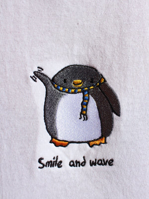 Smile and Wave SS - White