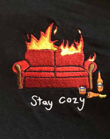 Stay Cosy - Black