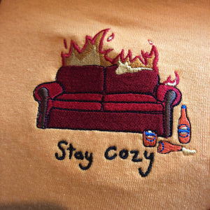 Stay Cosy - Gold