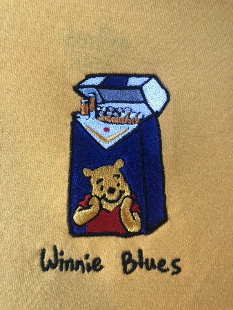 Winnie Blues Hood - Gold