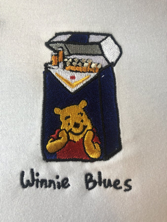 Winnie Blues - White