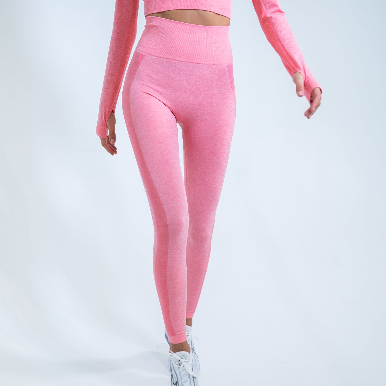 LONG TECH LEGGING - ROSE