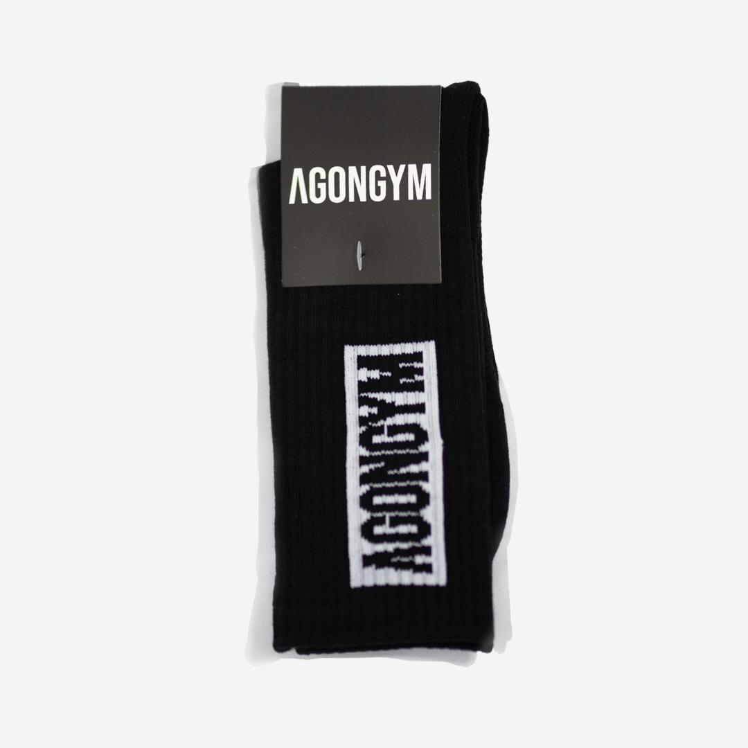 AGONGYM SOCKS - BLACK