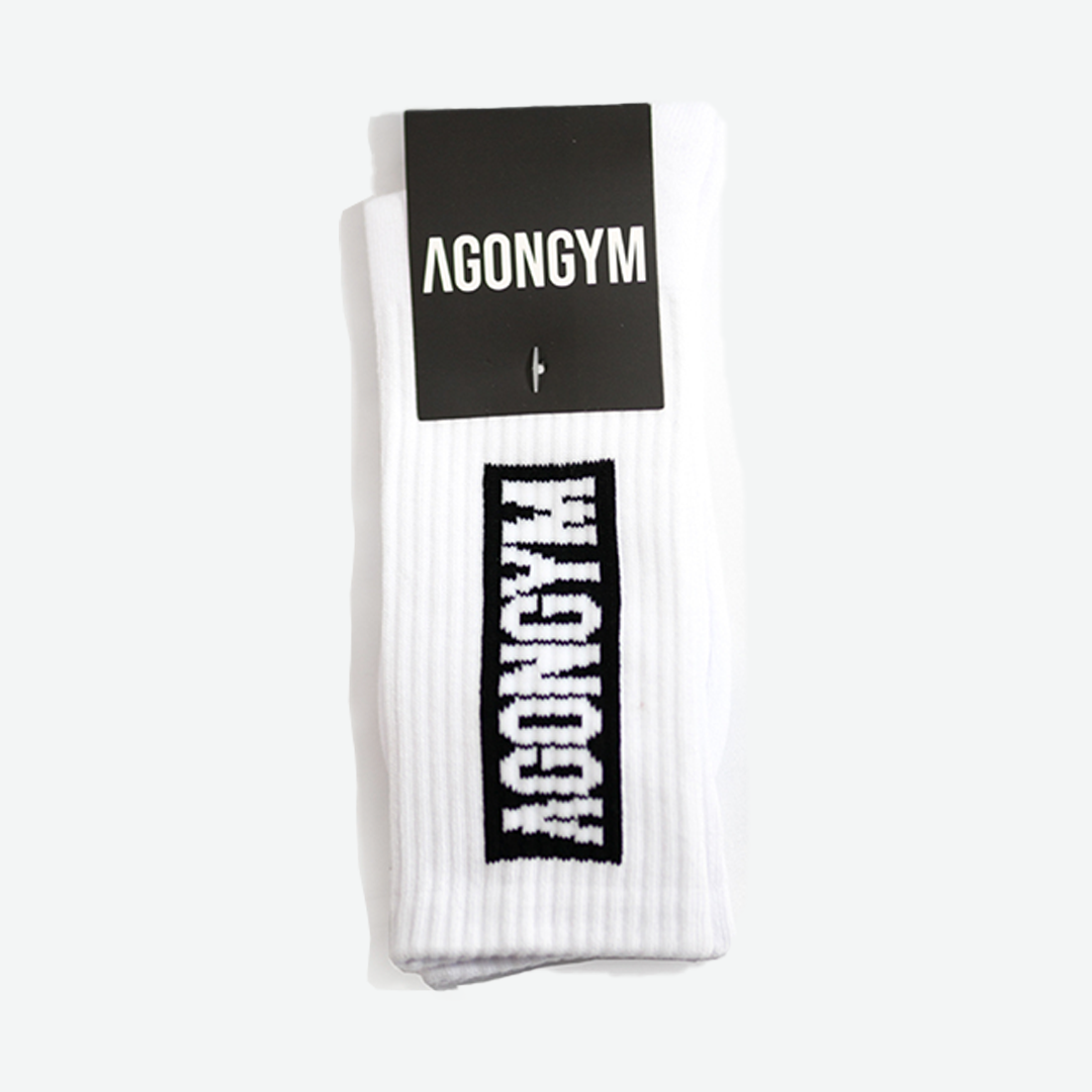 AGONGYM SOCKS - WHITE