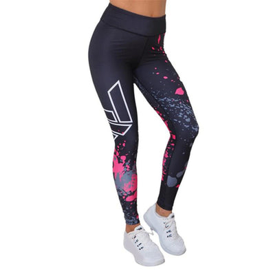 Elastic Fitness Pants
