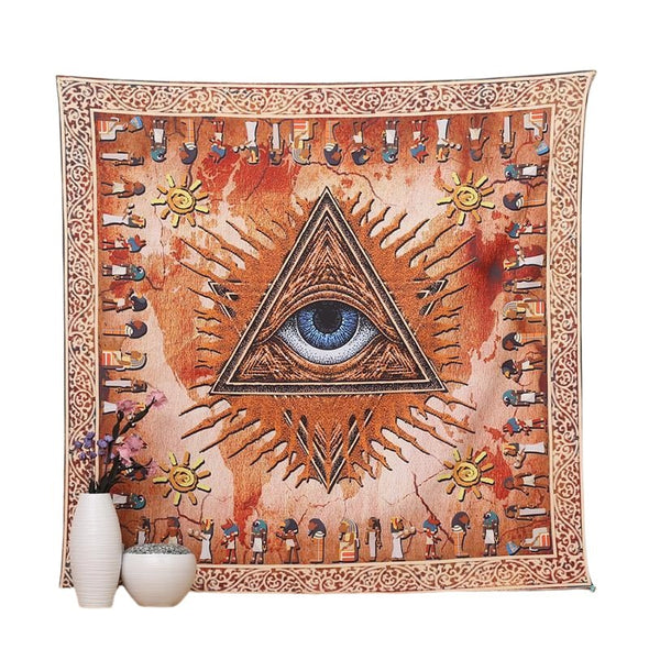 Egyptian Eye Tapestry