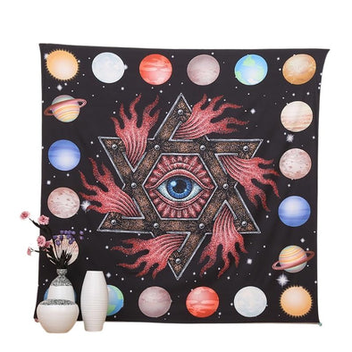 All-Seeing Eye Tapestry