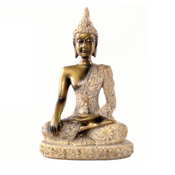 Peaceful Meditating Buddha Statues