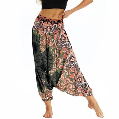 Flower Garden Yoga Pants