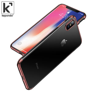 iPhone X Transparent Silicone Case