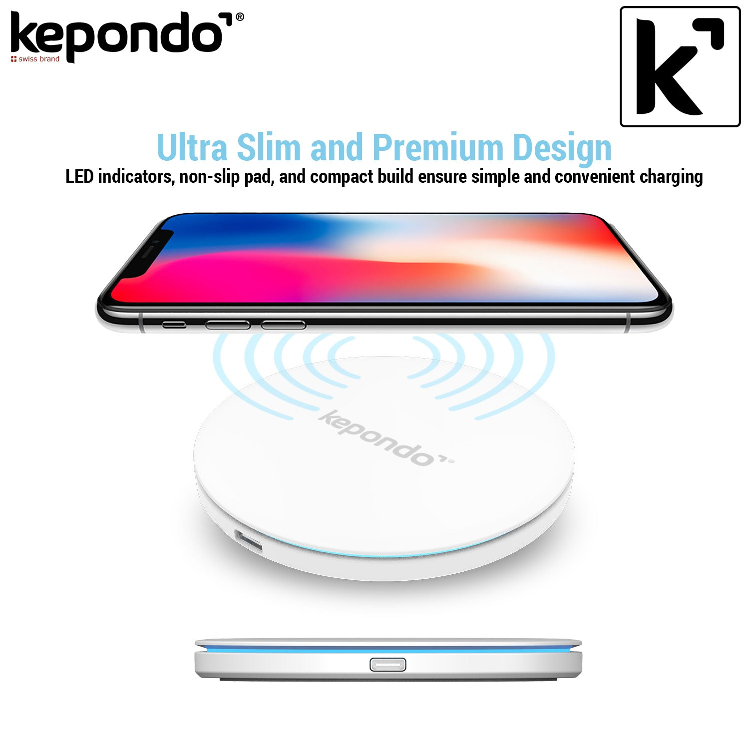 Fast Wireless Charger Kepondo