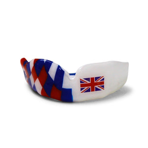 British Half Harlequin Gumshield - Gumshields - Mouthguards