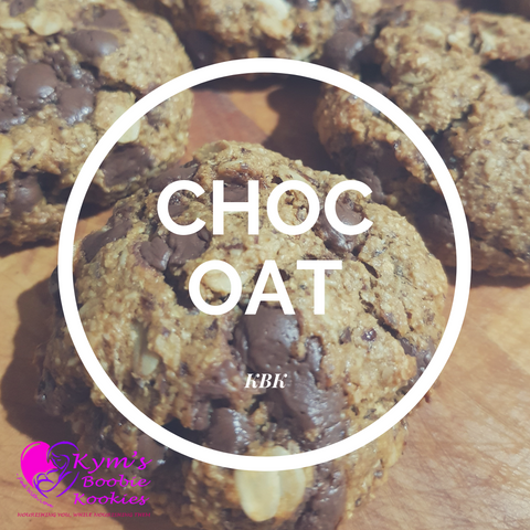 Choc Oat Vegan Boobie Kookies - bag of 6