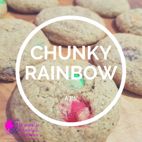 Chunky Rainbow Boobie Kookies - bag of 6