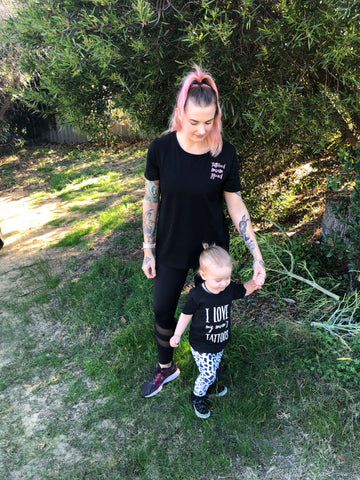 Tattooed Mum & Mini Set