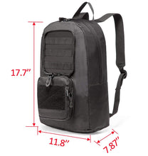 25L Foldable Tactical Backpack Portable Shoulder Bag