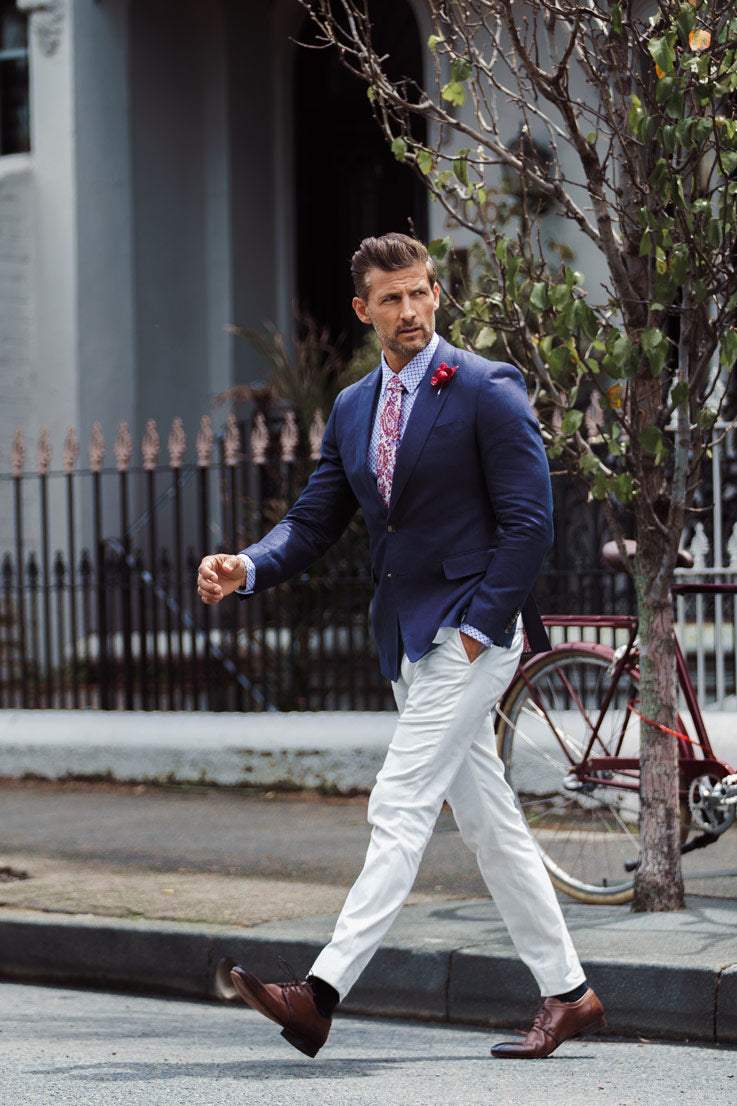 Melbourne Cup - Tim Robards Look