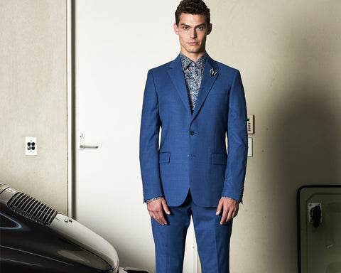 Summer Suiting: Suits to Wear When It's Hot