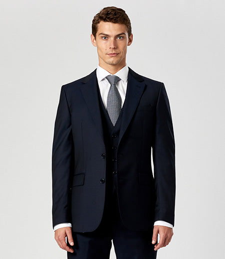 Calibre 3 piece wedding suit