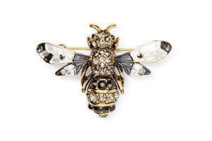 Calibre Enamel Bee Badge