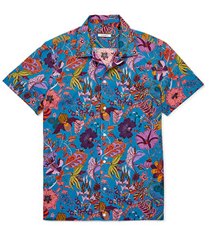 Calibre Gift Guide Floral Shirt