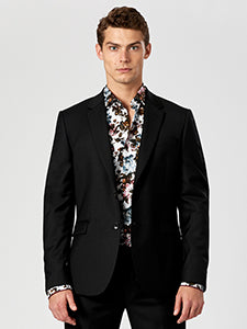 Black Cocktail Suit