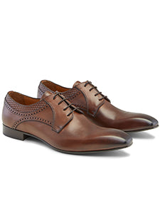 Cocktail Leather Derby Shoes
