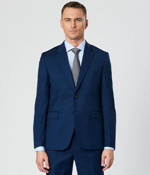 Navy Slim Suit Jacket | Calibre