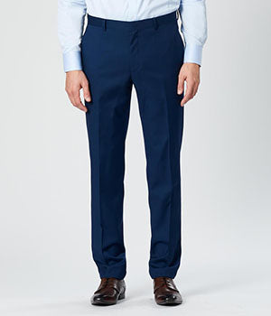 Navy Slim Suit Pants | Calibre