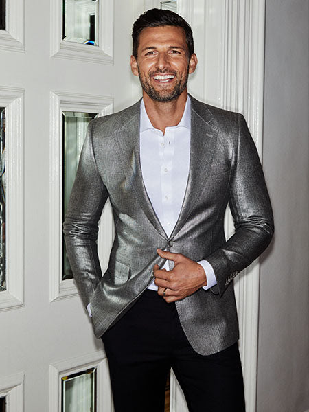 Tim Robards Silver Suit | Calibre