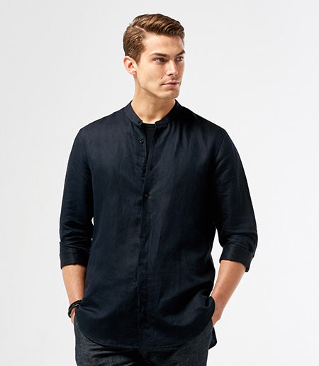 Calibre LS Stand Collar Shirt