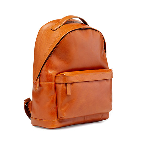 Calibre Tan Leather Backpack
