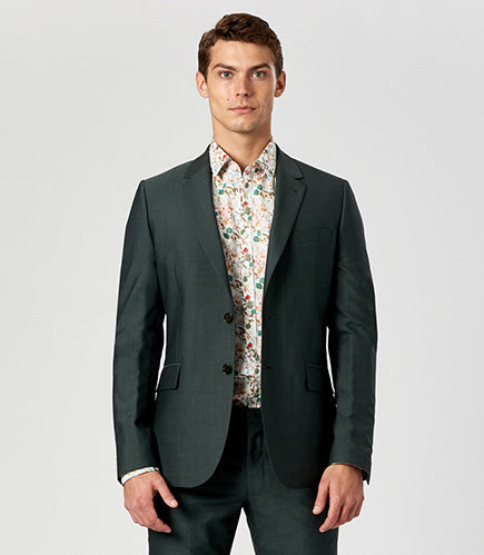 Calibre Men's Forest Green Suit
