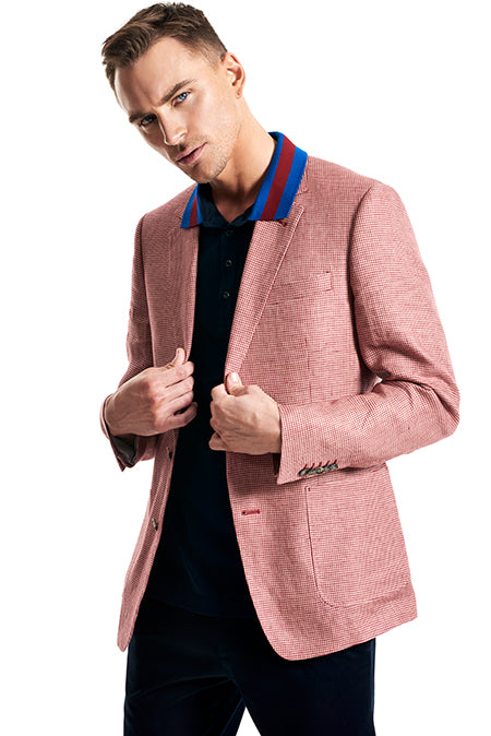 Calibre Men's Houndstooth Blazer