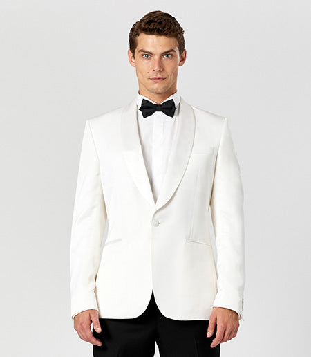 Calibre Ivory Shawl Dinner Jacket