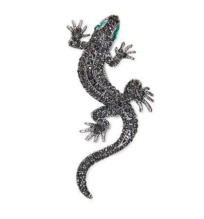 Calibre Gecko Badge Gunmetal