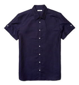Calibre Short Sleeve Linen Shirt